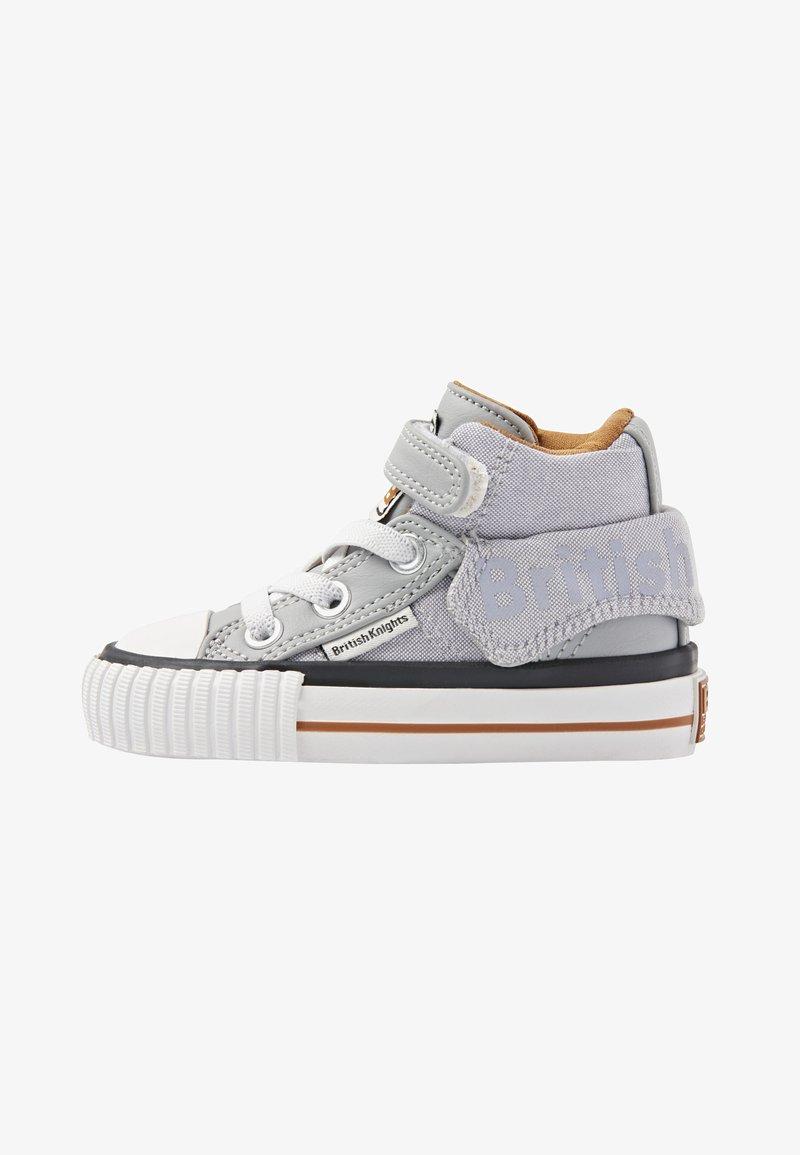 British Knights - ROCO - Baby shoes - lt grey/cognac
