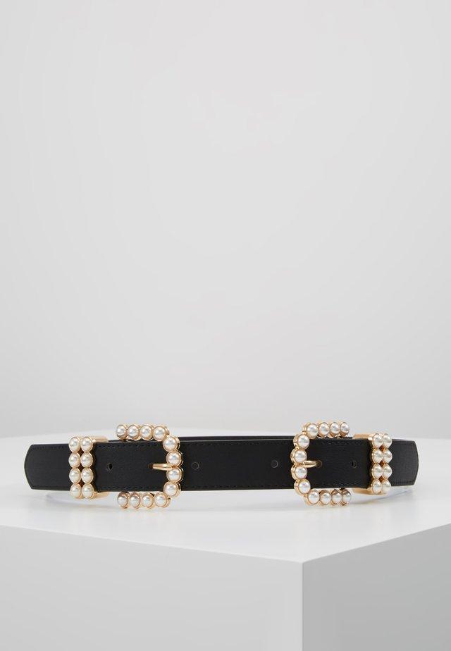 PCONA WAIST BELT - Waist belt - black