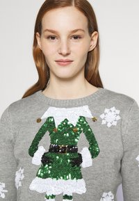 Fashion Union - CHRISTMAS ELF - Jumper - grey