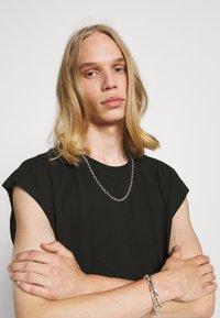 Weekday - SLY TANKTOP - Basic T-shirt - black - 3
