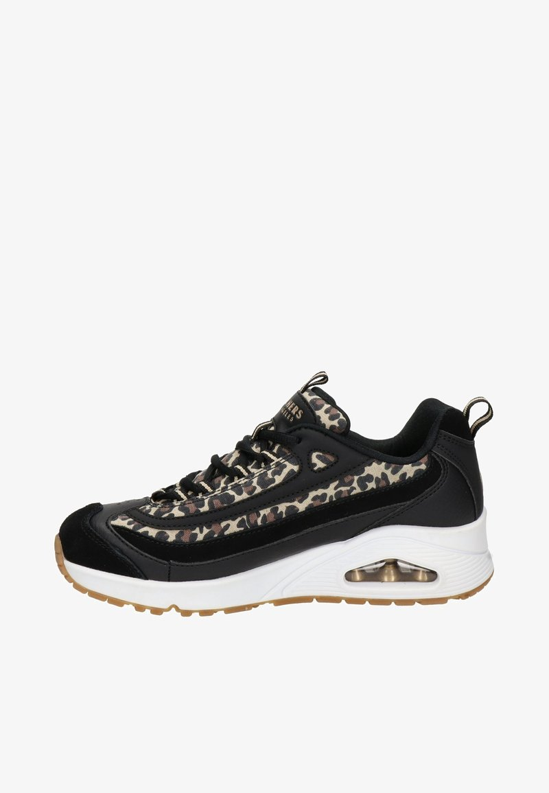 Skechers - UNO WILD STREETS DAMES - Sneakers laag - zwart