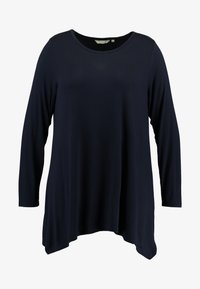 LONG - Langærmede T-shirts - sky captain blue
