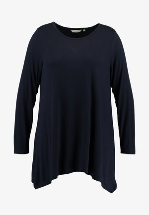 LONG - Long sleeved top - sky captain blue