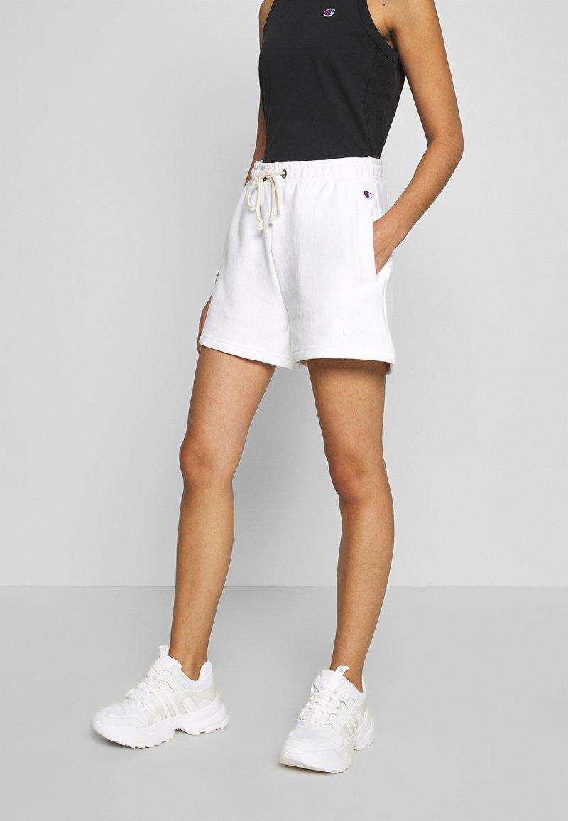 Champion Reverse Weave - Tracksuit bottoms - white