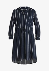 Selected Femme - SFDAMINA 7/8 DRESS  - Shirt dress - dark sapphire - 4