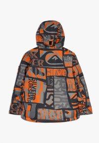 Quiksilver - MISSION - Snowboardová bunda - pureed pumpkin isere point - 1