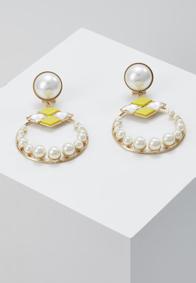 Pendientes - yellow/gold-coloured