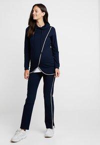 Esprit Maternity - PANTS - Tracksuit bottoms - night blue - 1