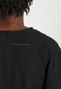 MM6 Maison Margiela - DRESS - Day dress - black - 9