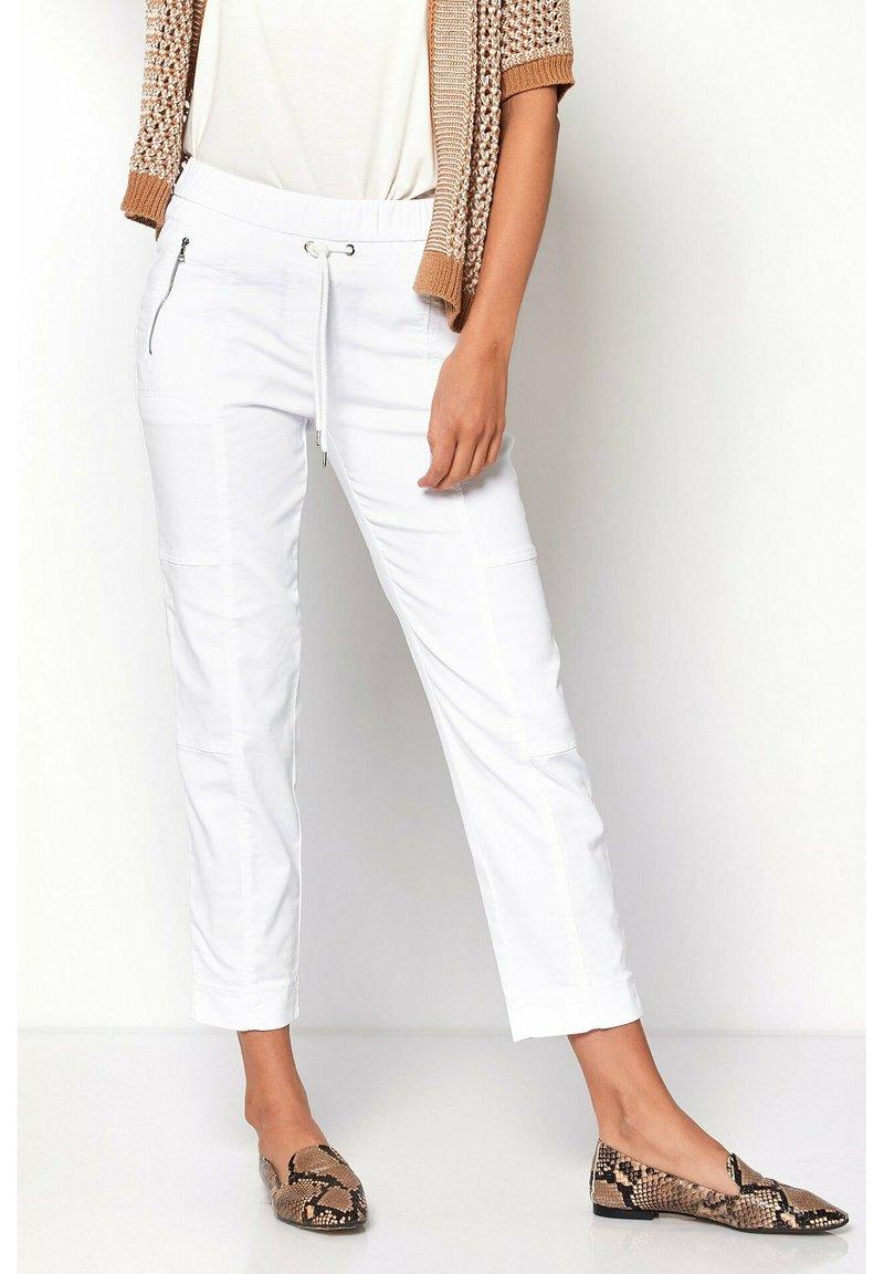 TONI - Trousers - 80 white