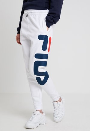 PURE BASIC PANTS - Pantalones deportivos - bright white