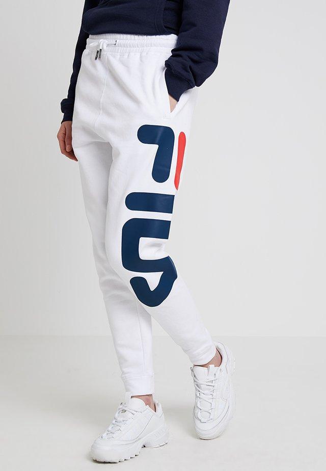 PURE BASIC PANTS - Teplákové kalhoty - bright white