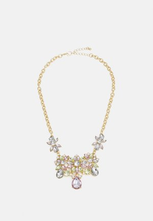 PCPULENGRA NECKLACE - Smykke - gold-coloured/multi