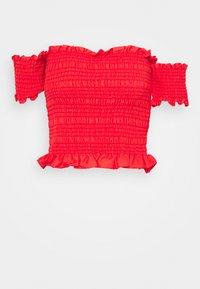iBlues - INCERTO - Print T-shirt - corallo - 0