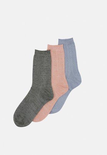 MIX SOCK 3 PACK - Socks - army/blue/violetice