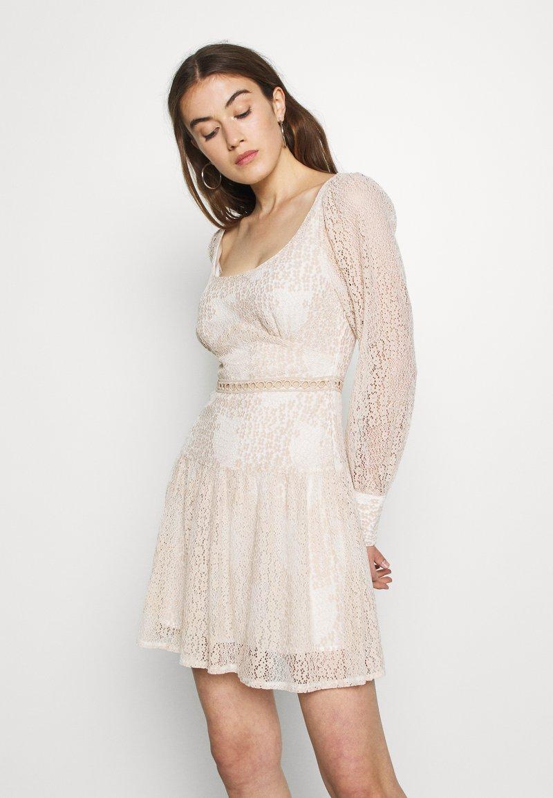 Fashion Union - QUINCE - Day dress - cream