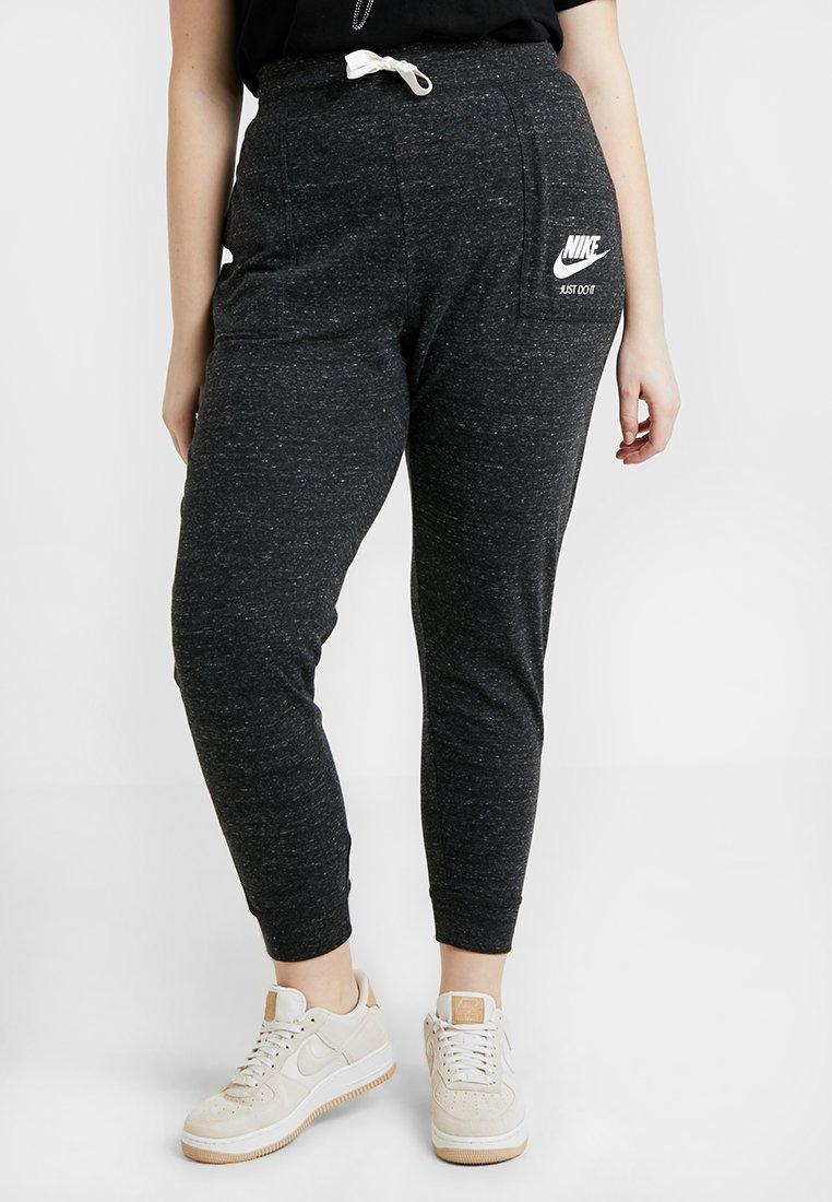 Nike Sportswear - GYM PANT PLUS - Tracksuit bottoms - black/sail