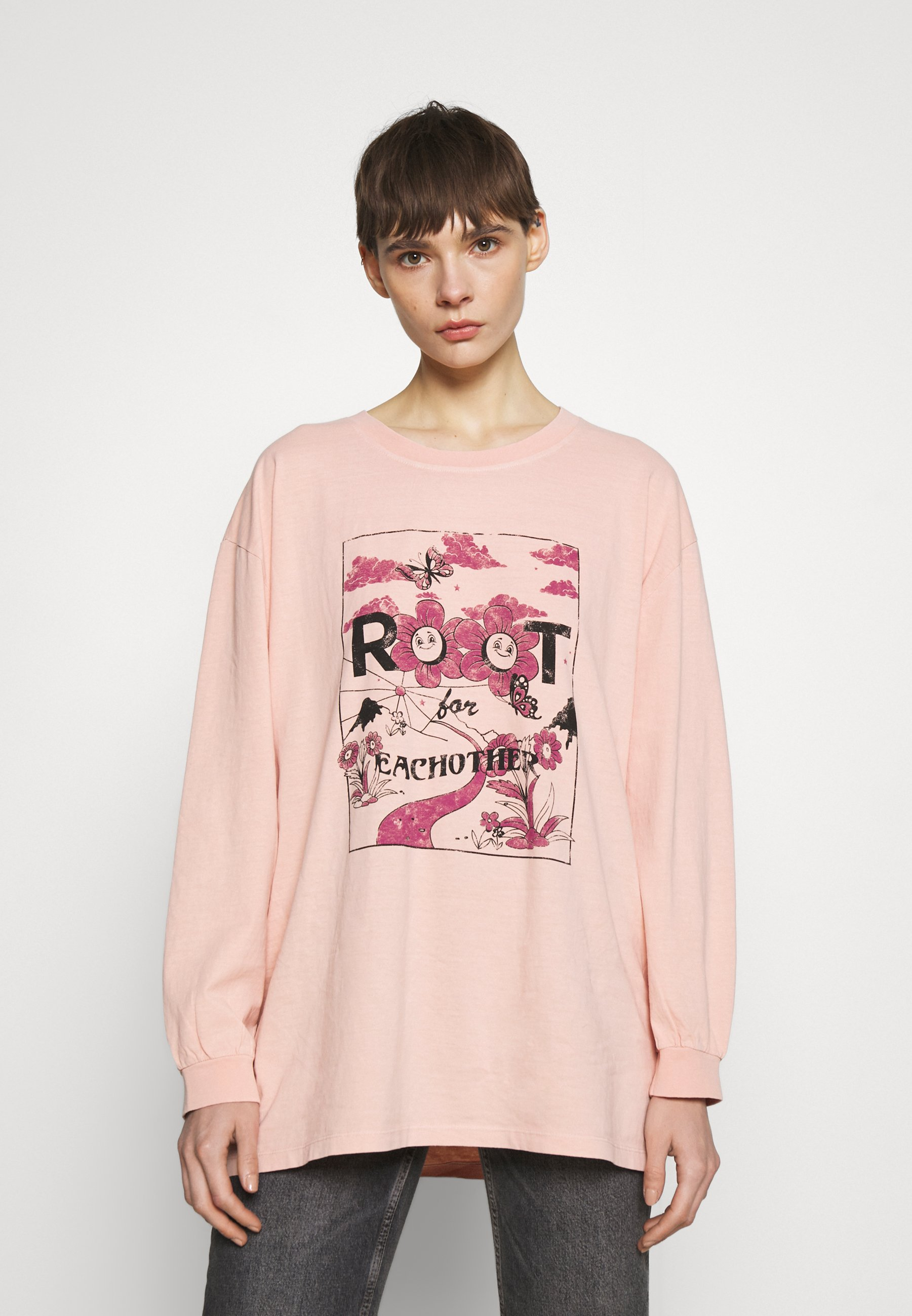 Women ROOT FOR EACH OTHER SKATE - Long sleeved top