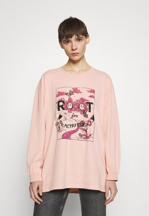 ROOT FOR EACH OTHER SKATE - Long sleeved top - rose