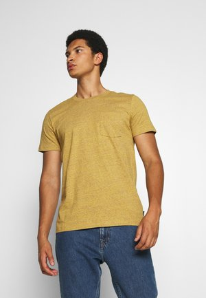 Basic T-shirt - golden orange