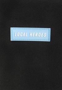 Local Heroes - TRIBAL LOVE BLACK SLIP ON DRESS - Vestido informal - black/blue - 2