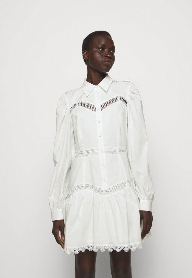 SANDRA SHORT DRESS - Blusenkleid - cream