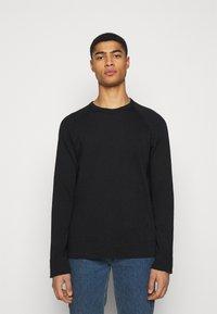 James Perse - VINTAGE RAGLAN - Sweater - black - 0