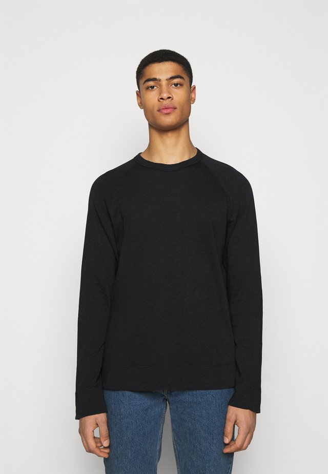 VINTAGE RAGLAN - Sweatshirt - black
