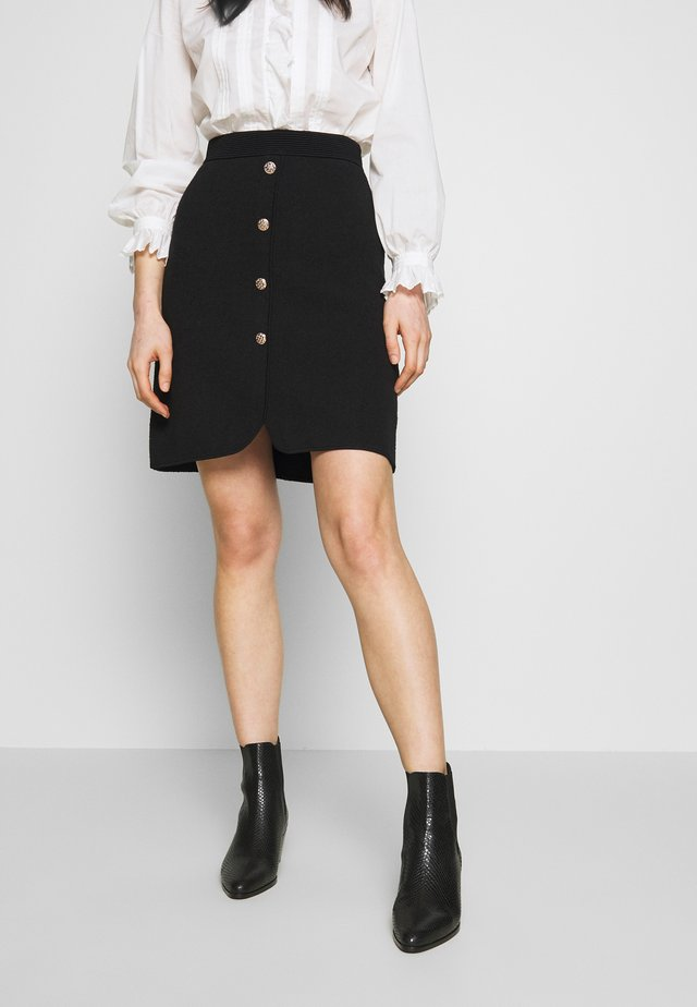 MANUE - A-linjekjol - noir