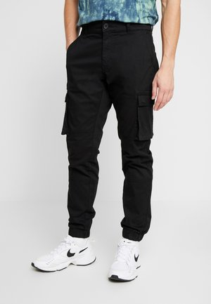 ONSCAM STAGE CARGO CUFF - Cargo trousers - black