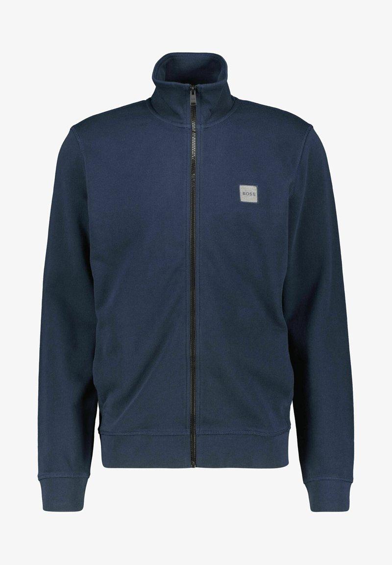 BOSS - ZESTART - Zip-up sweatshirt - marine