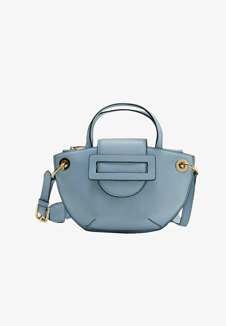 Uterqüe - MIT GURT - Across body bag - blue
