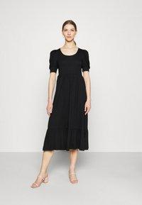 ONLY - ONLMAY LIFE PUFF DRESS - Maxi dress - black - 0