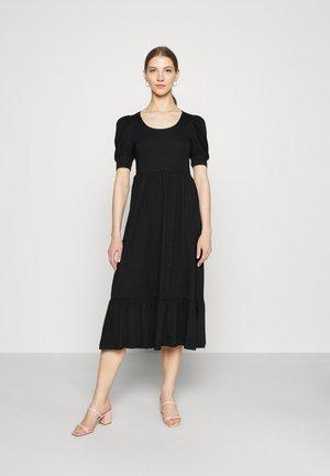 ONLMAY LIFE PUFF DRESS - Vestito lungo - black