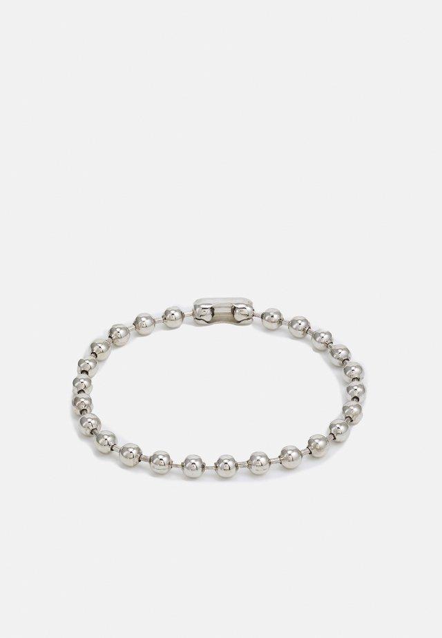 BALL CHAIN BRACELET - Bracciale - silver-coloured