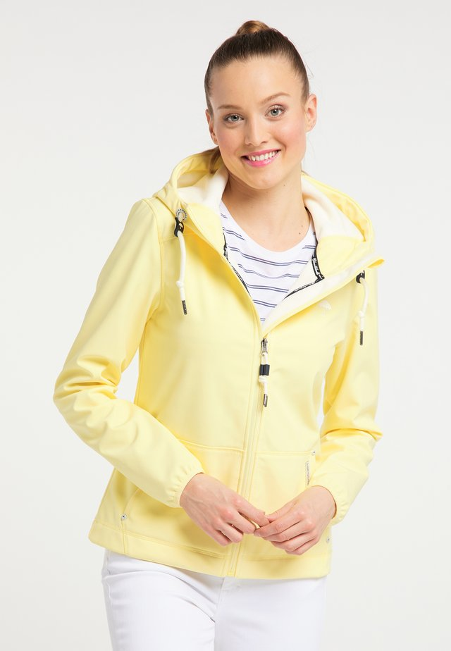Outdoorová bunda - light yellow