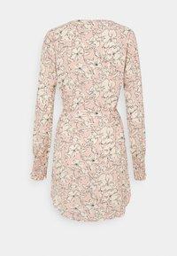 Vila - VIDOTTIES NEW TUNIC DRESS - Shirt dress - misty rose/white - 1