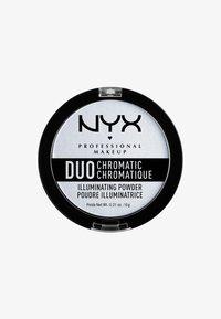 Nyx Professional Makeup - DUO CHROMATIC ILLUMINATING POWDER - Illuminanti - 1 twilight tint - 0