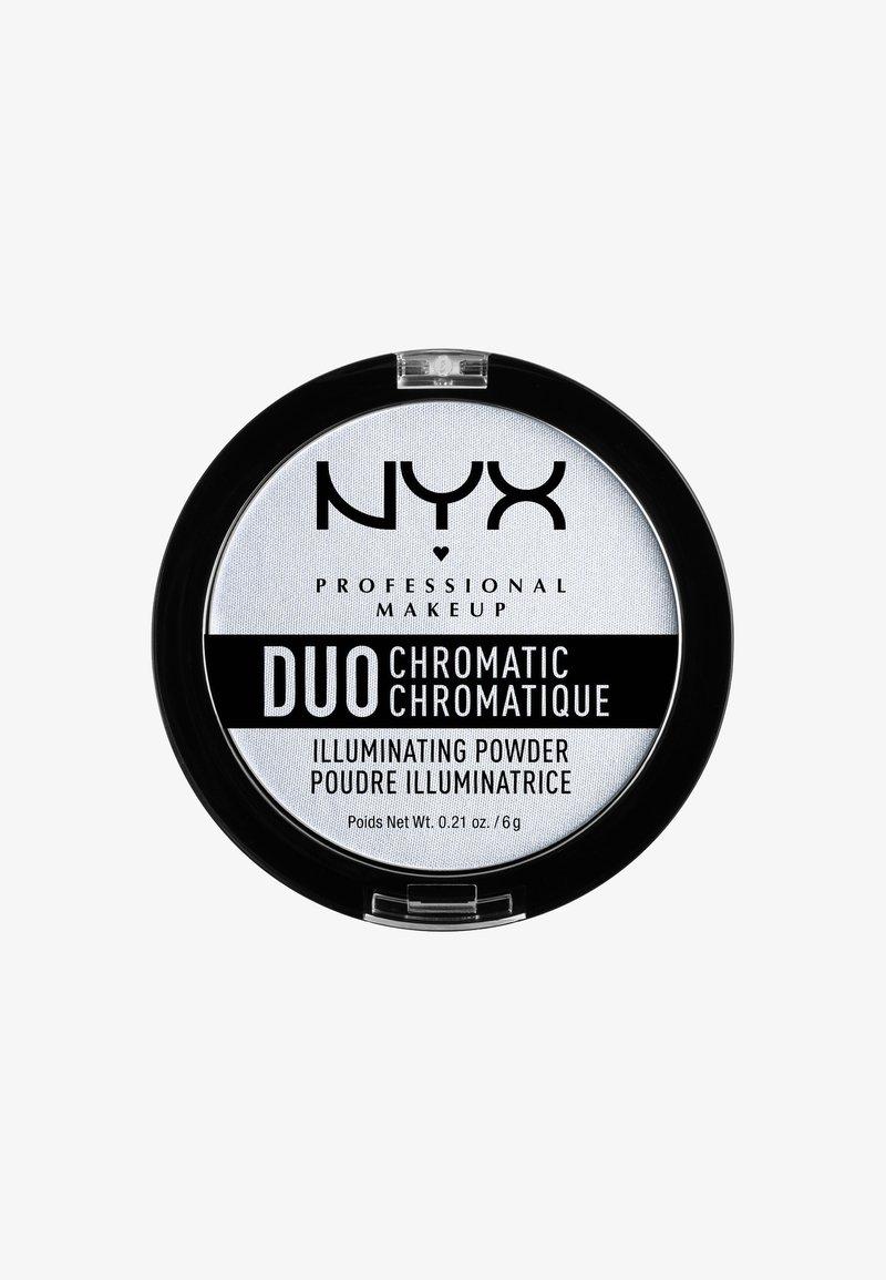 Nyx Professional Makeup - DUO CHROMATIC ILLUMINATING POWDER - Illuminanti - 1 twilight tint