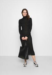Samsøe Samsøe - CUPIDON DRESS - Jumper dress - black - 1