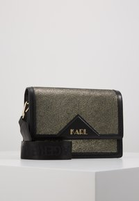 KARL LAGERFELD - SHOULDER BAG - Across body bag - bronze - 0