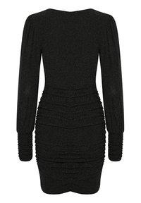 Gestuz - Shift dress - black - 4