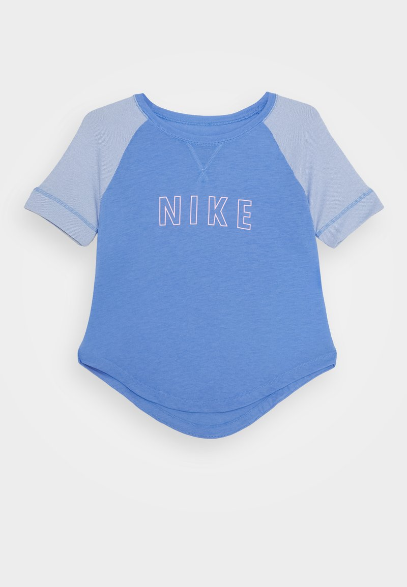 Nike Performance - DRY TROPHY - T-shirt print - royal pulse/pink