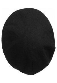 Brixton - Bonnet - black herringbone twill - 2
