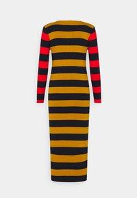 Lacoste - Jumper dress - enzian/navy blue/ redcurrant bush - 1