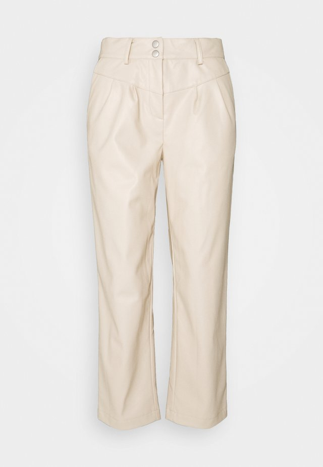 BYDOTA PANTS - Trousers - cement