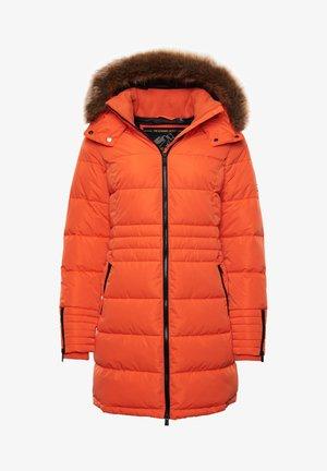 KUMANO  - Winter coat - flame orange