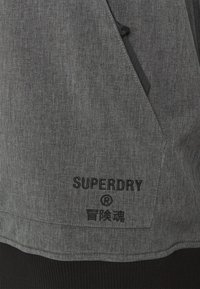 Superdry - SNOW TECH HOOD - Kurtka narciarska - charcoal - 2