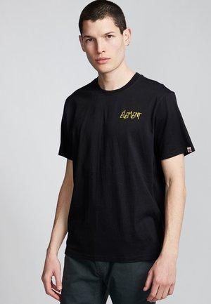 DEVOTE - Print T-shirt - flint black