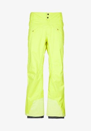 SNOWSHOT PANTS - Schneehose - chartreuse